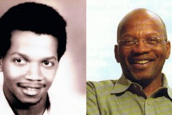 Left: A young Roy DeBerry poses for his high school graduation picture. DeBerry was 15-years-old when he became a Freedom School student in 1964. (Photo courtesy of Ellen Devine with Freedom's Children) Right: Roy DeBerry, currently the executive director of the Hill Country Project, will soon join the William Winter Institute for Racial Reconciliation to help educate students about the civil rights movement. (Photo courtesy of Aviva Futorian)