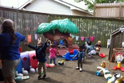 At the Kids of Excellence child care center in New Orleans the children learn largely through play. (Photo: Sarah Carr)