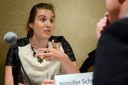 Jennifer Schnidman Medbery of Kickboard. (Photo: Melissa Bailey)