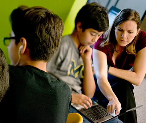 Summit Public Schools personalizes instruction with technology so teachers can work with students individually and in small groups.