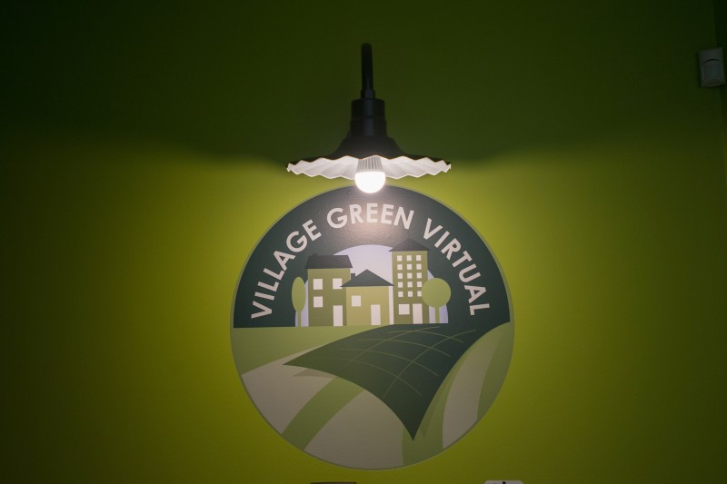 "Village Green Virtual, is a public charter school in Rhode Island opened in September 2013 with a mission to ""personalize instruction"" for every student."