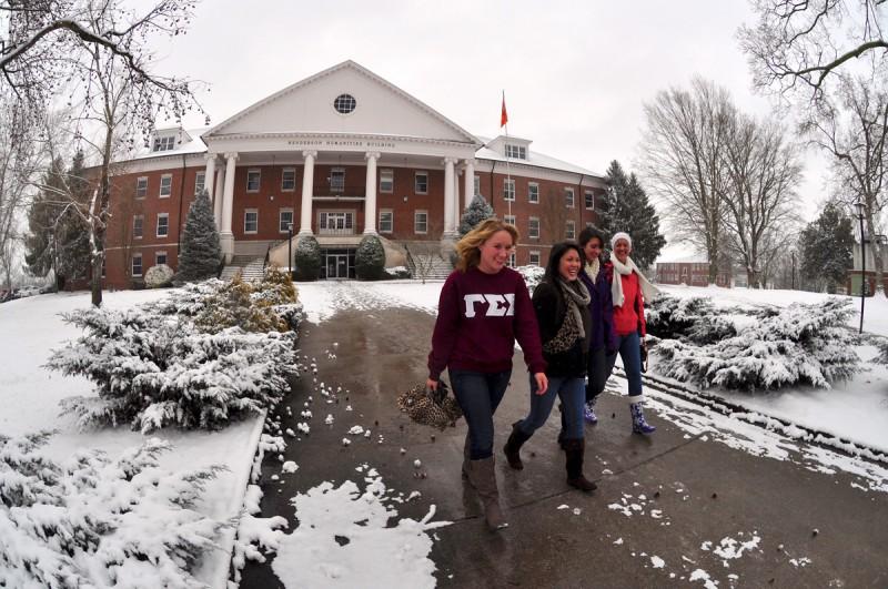 Carson-Newman University in Jefferson City, Tennessee.