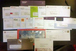 Colleges send out realms of encouraging mail to potential applicants every year in stepped-up-recruiting campaigns.