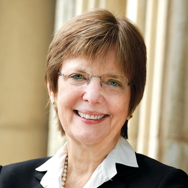 Hamilton College President Joan Stewart was the first in her family to go to college, and feels strongly about expanding opportunity for low-income students.