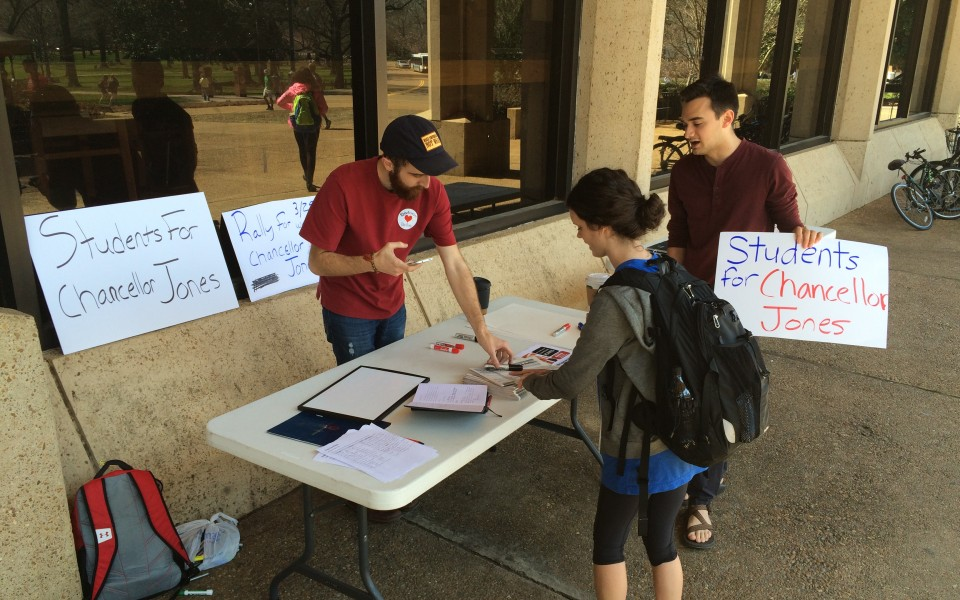 Senior Ryan Felder (left) and sophomore Alex Borst (right) created the student group