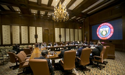 The University of Texas Board of Regents meets on Feb. 12, 2015.