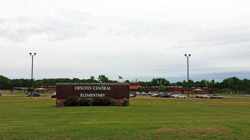 Desoto Central Elementary is one of the schools cited in a complaint against Desoto County School District filed with the U.S. Department of Education's Office of Civil Rights on Tuesday.