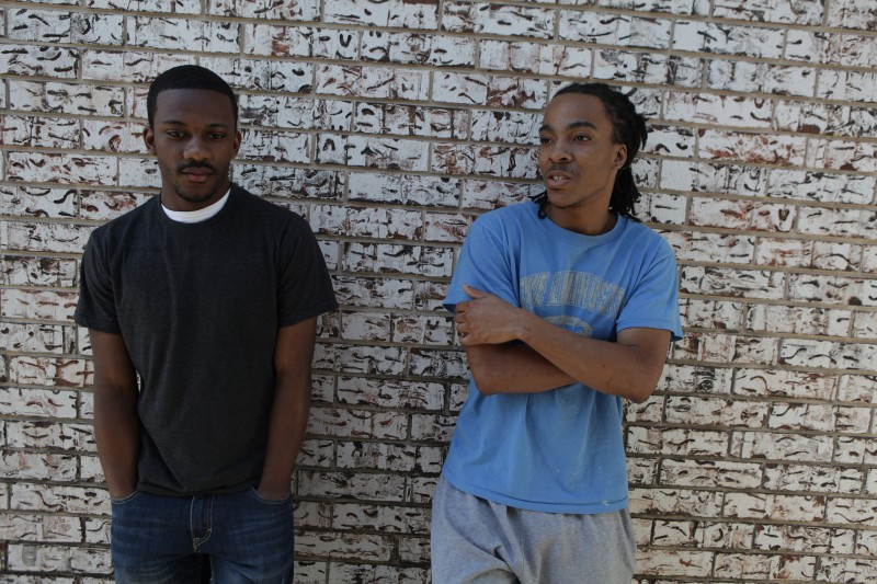 Brothers Devante and Devine Lee, who lost a year of school in the wake of Hurricane Katrina. An untold number of kids — probably numbering in the tens of thousands — missed weeks, months, even years of school after the storm. (Photograph by Tyrone Turner)