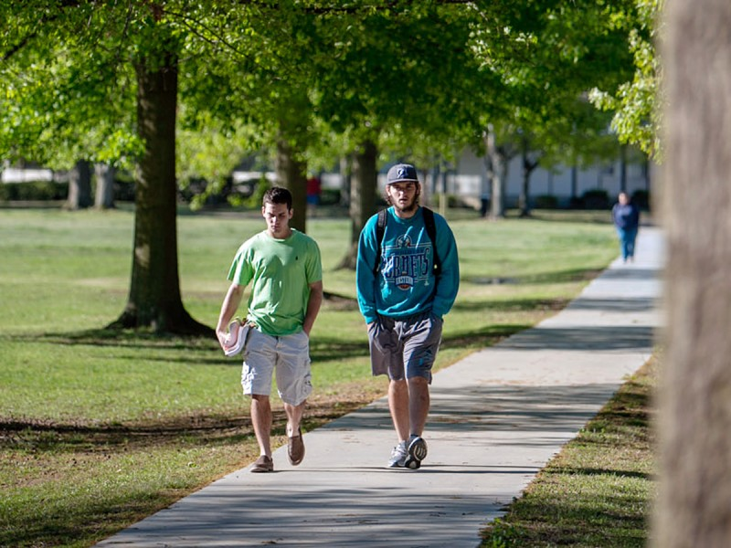 The University of Mount Olive in North Carolina, which recruits community college graduates.