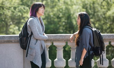 Kathy Tran, a Vietnamese-American UC Berkeley sophomore, and Giao Tran, a Vietnamese-American senior.