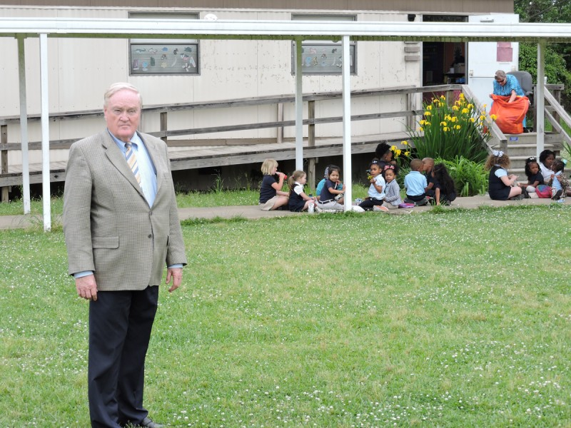 Carroll County superintendent Billy Joe Ferguson, whose district had a 19 percent failure rate on the third-grade reading test.