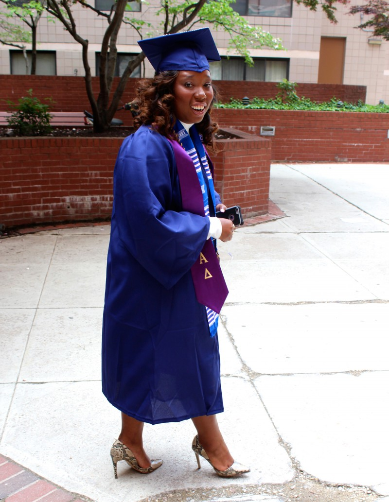 Talitha Halley is all smiles as she heads to her college graduation. It was a day her mother says Halley's been preparing for since she was a little girl. Halley went from the parochial school she'd attended since kindergarten in New Orleans to public schools in Houston after fleeing Katrina.