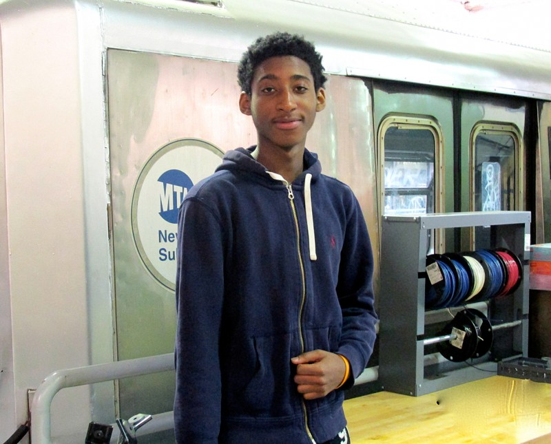 Transit Tech senior Darweshi Roberts says teachers at the school urge students to set goals and have a plan for the future.