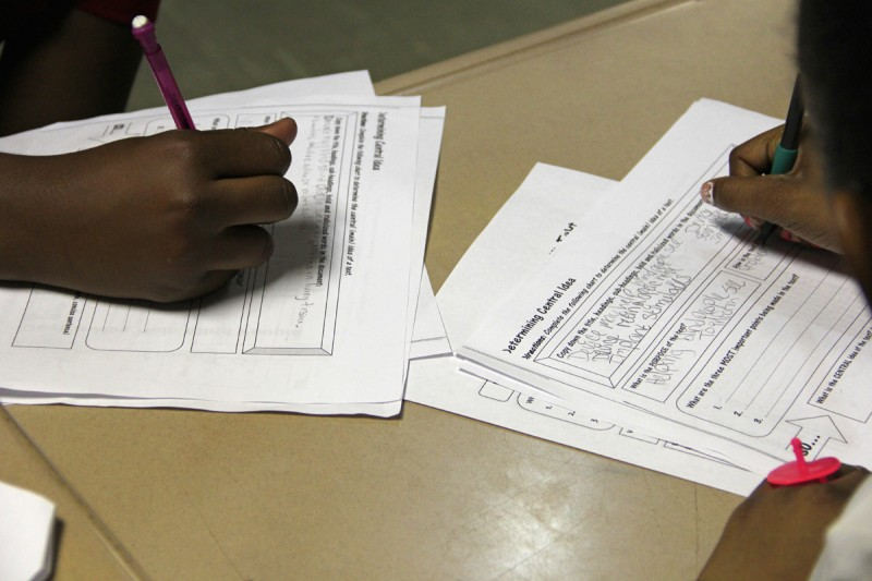 With the new Common Core standards, teachers at Quitman County Elementary School say students have to read more nonfiction and write more than in previous years.