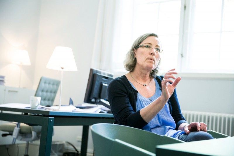 Anni Søborg, vice provost for education at the University of Copenhagen, who says students need time to study.