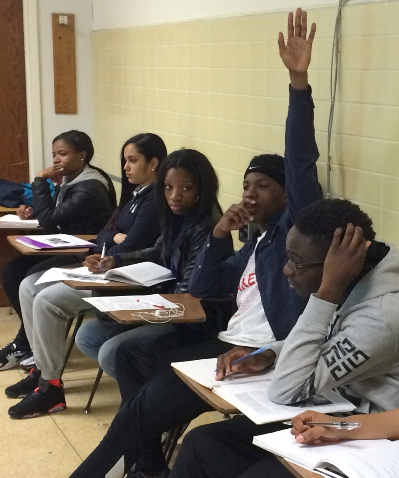 BCA juniors and seniors take classes at Brooklyn College and earn an average of 25 college credits by the time they graduate.