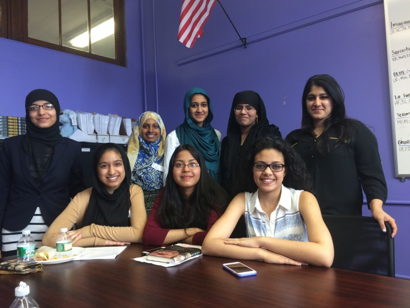 Almost all of the observant Muslim girls at the Urban Assembly School for Criminal Justice in Brooklyn will be attending college this fall, some closer to home than others.