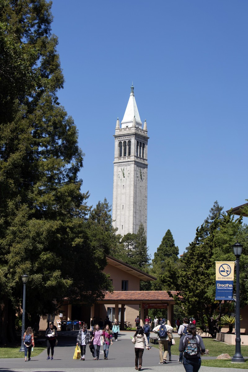 Cal students at UC Berkeley.