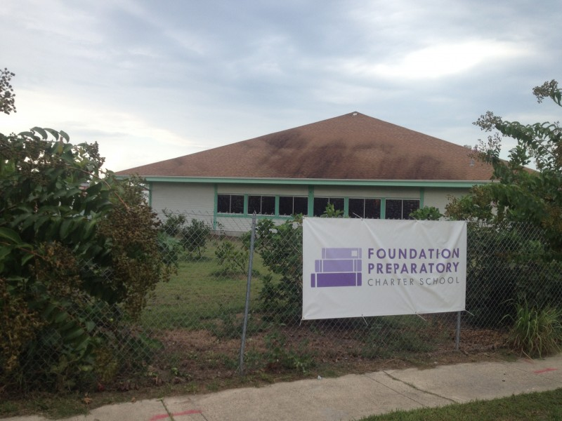 Foundation Prep's temporary headquarters at 13435 Granville Street, New Orleans.