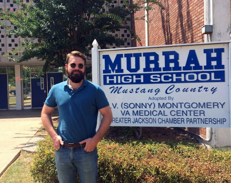 Attorney Drew Schimmel, who is working for 42 for Better Schools, takes a trip down memory lane by visiting his alma mater, Murrah High School in Jackson.