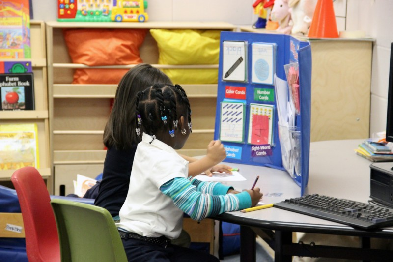 In this 2013 photo, students at a Hazlehurst Elementary School preschool classroom work on an activity during class time. The Hazlehurst School District has struggled with teacher turnover for years.