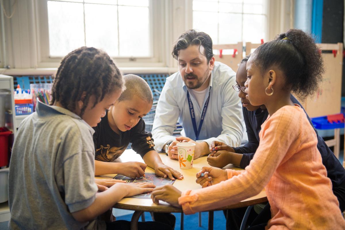 At A School In Brooklyn S Poorest Neighborhood Literacy