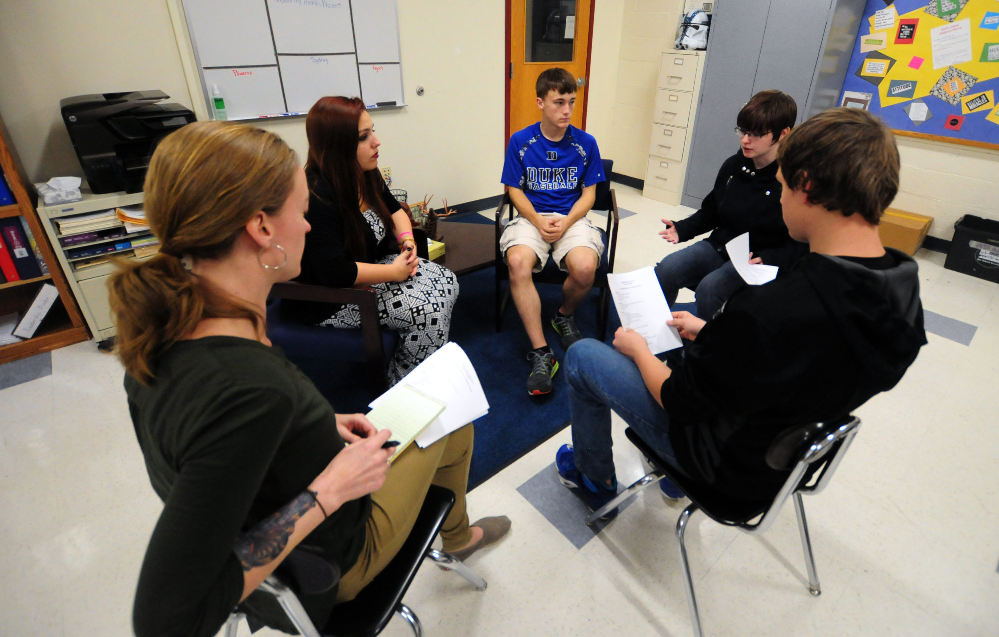 What happens when instead of suspensions, kids talk out their mistakes?