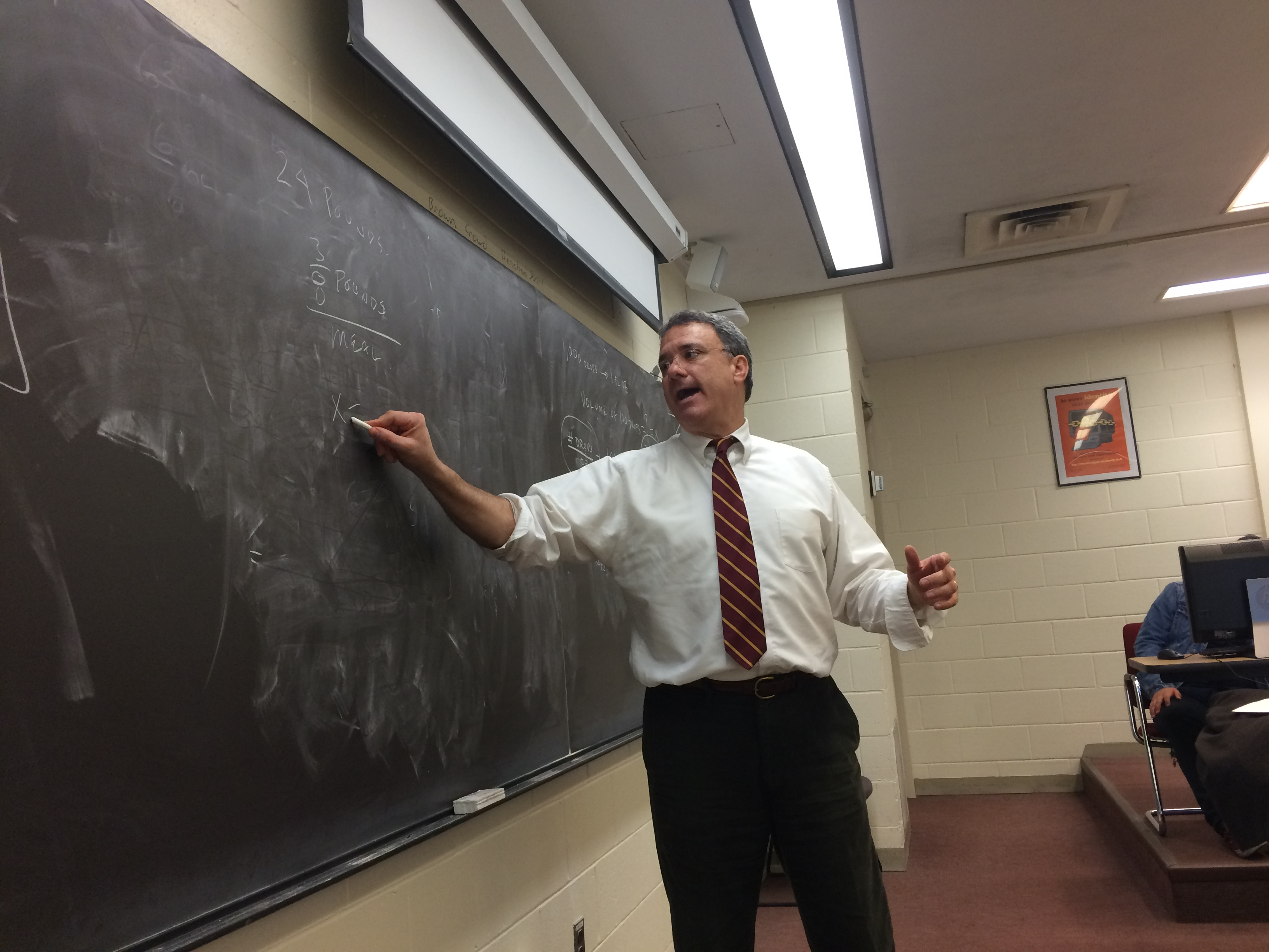 In college remedial classes, unprepared students get