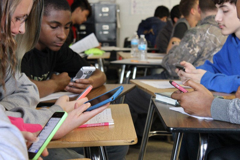why should students use phones in school