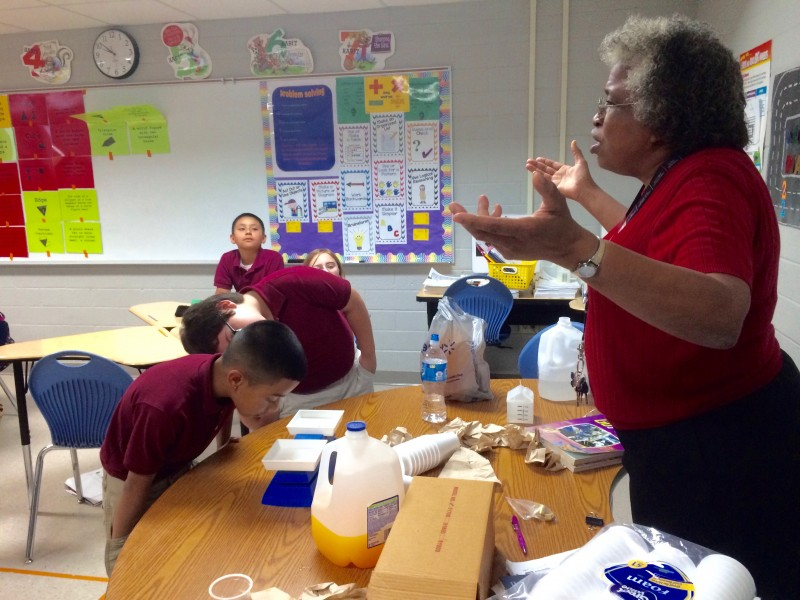Third Grade Math Teacher Karen Demore Says Her Students At New Frontiers Charter School Need To Understand Math As A Journey Not Just A Series Of Right Or