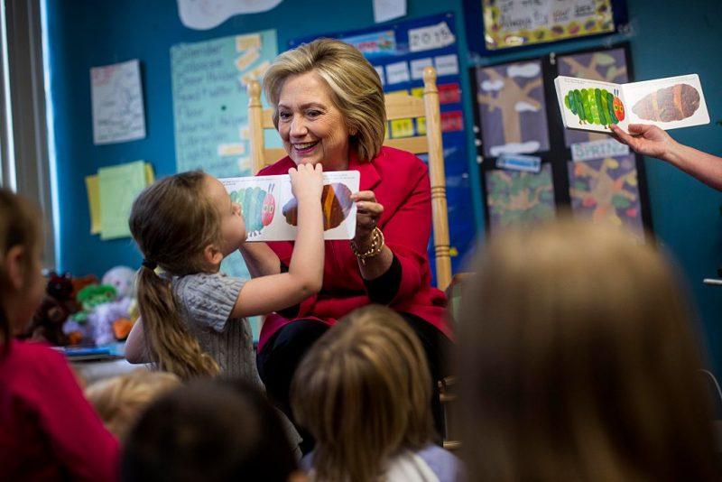 Hillary Clintons Preschool Revolution The Hechinger Report