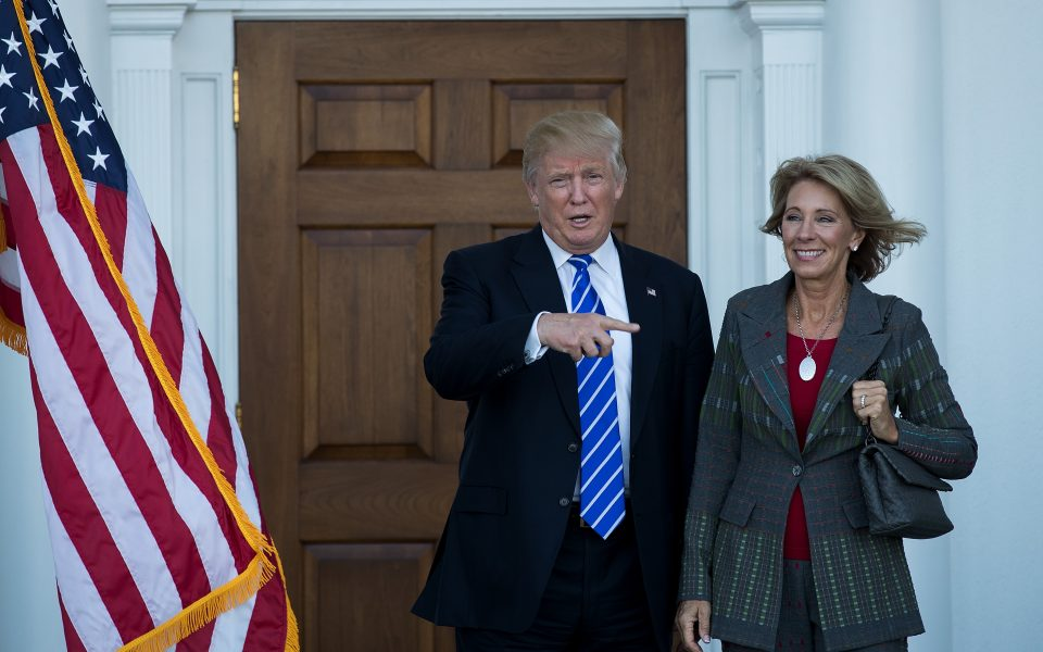 Betsy Devos Trumps Education Pick Plays >> Opinion What S The Worst That Could Happen Under Betsy Devos
