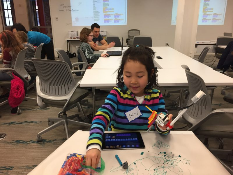 CoderDojos get kids psyched about programming by turning them loose