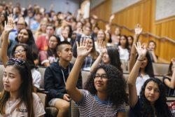 First-generation students at University of California, Davis.