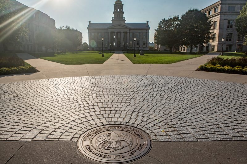 The University of Iowa campus.