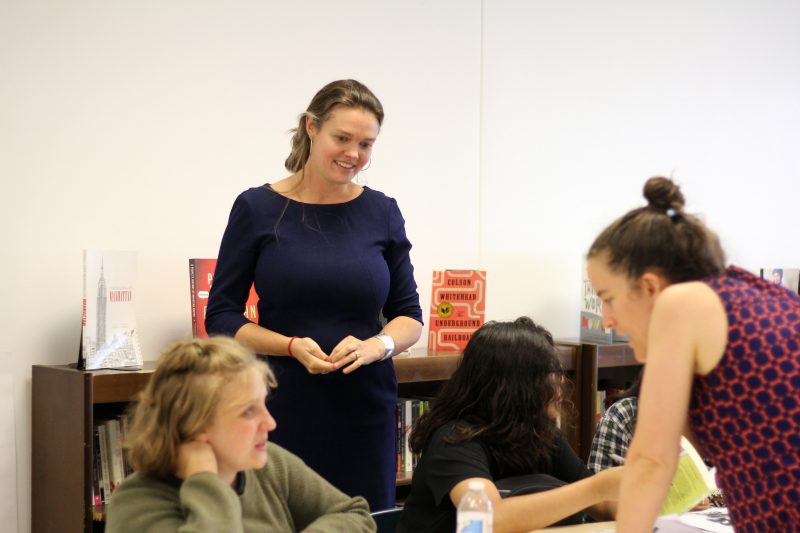Kate Burch is the principal and founder of Harvest Collegiate in Union Square, which does not get the bonus. Burch said the extra money would help her school cover after school activities and more teacher training.