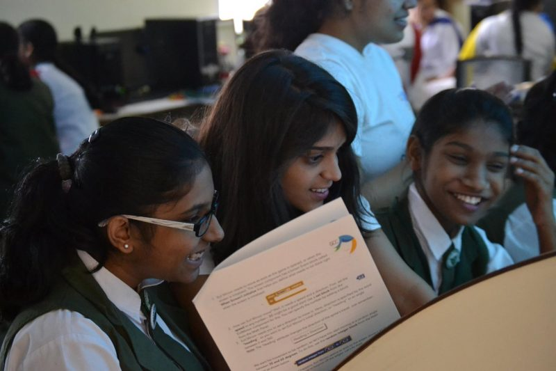 Aashna Shroff started Girls Code Camp to introduce girls in India to computers.