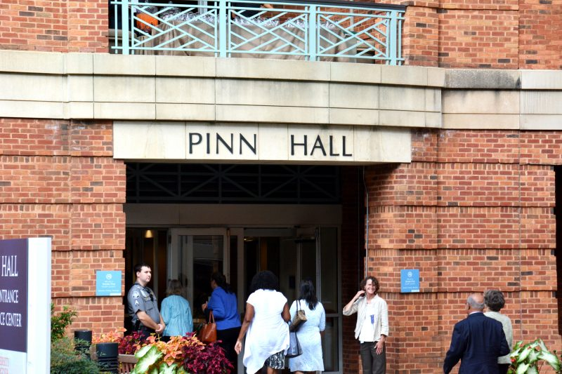 On Sept. 13, 2017, the University of Virginia renamed the medical education and research building formerly known as Jordan Hall as Pinn Hall, after renowned black physician Vivian W. Pinn, Senior Scientist Emerita NIH.