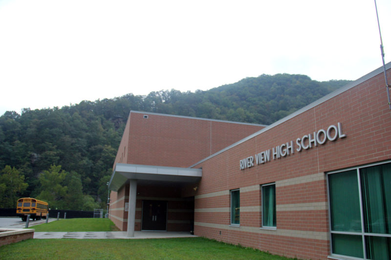 River View High School in McDowell County.