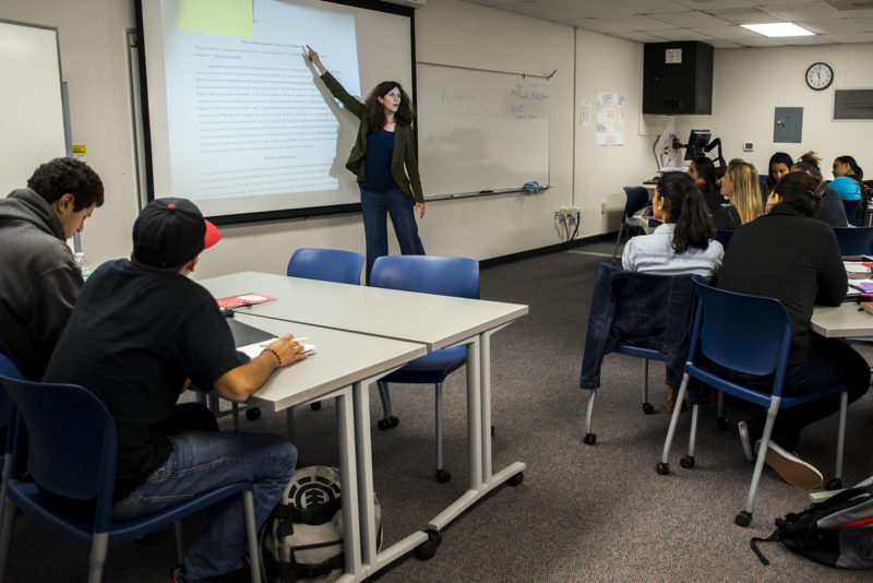 Students at San Diego Mesa College who would have been placed in remedial English can take a college-level writing class with extra support instead.