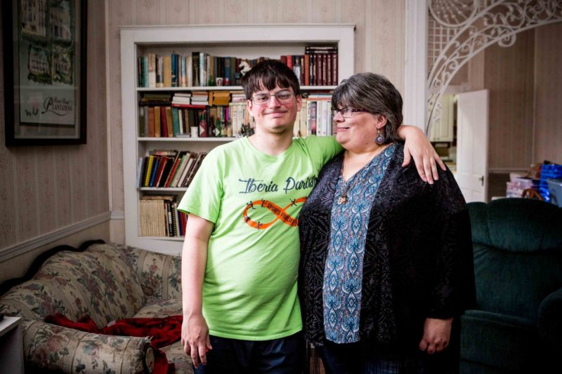 Julie Comeaux started home-schooling her 17-year-old son, Matthew, when the school district suggested he be placed in an alternative diploma program.
