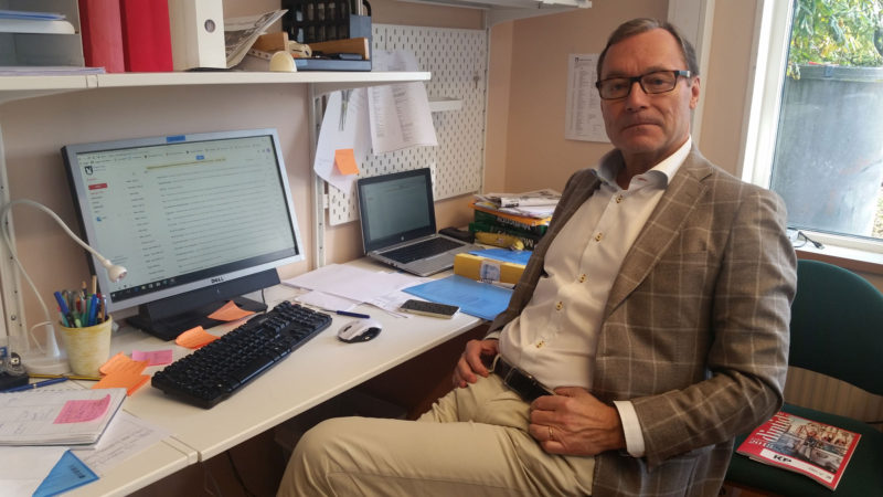 Patrik Welt, principal of AB Videdals Privatskolor in Malmö, said he would like to see the Swedish School Inspectorate look more at school quality.