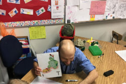 Students in a Granite School District preschool classroom learn about the letter T.