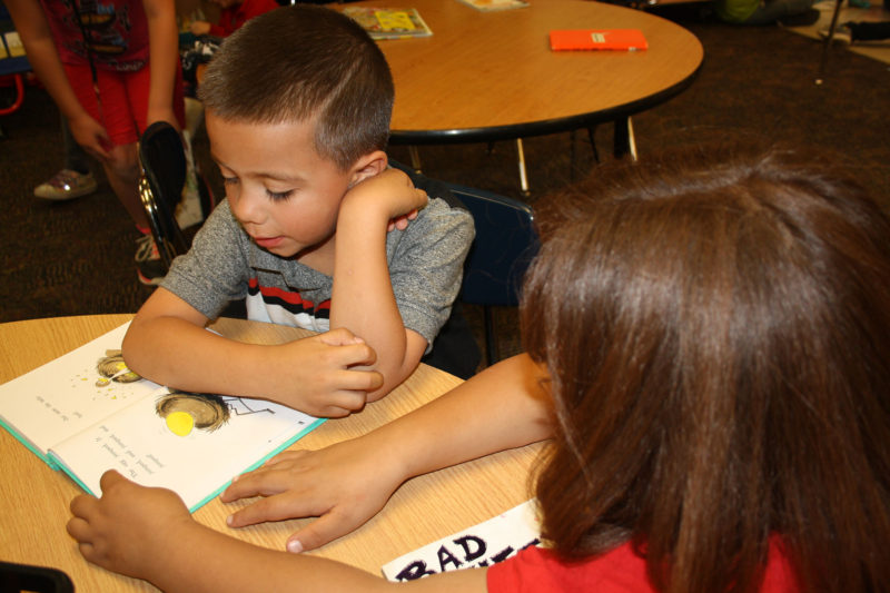 First-graders are laying the foundation for a lifetime of literacy during school, but they have some of the highest absenteeism rates of any grade.