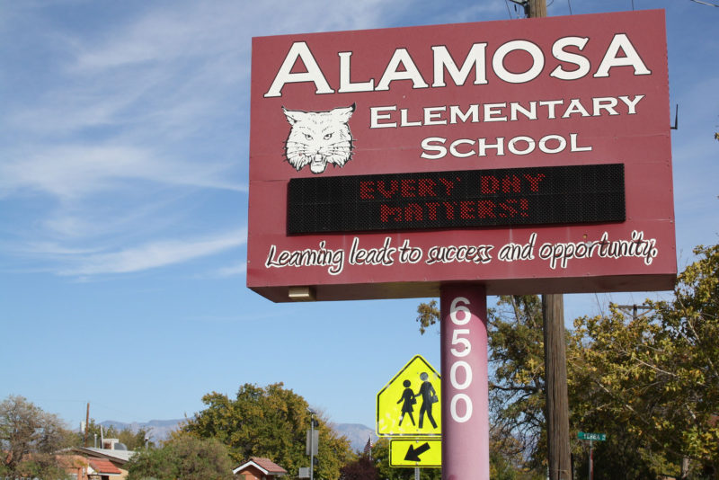 """Alamosa Elementary School in Albuquerque emphasizes that """"every day matters"""" as it aims to reduce chronic absenteeism."""