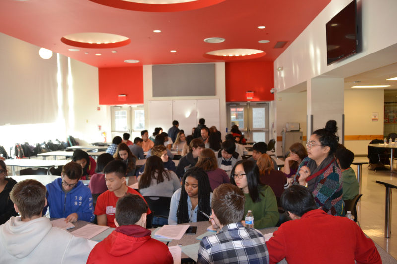 Roughly 70 Niles West students spent four hours on a recent Friday learning how to negotiate on workplace issues.
