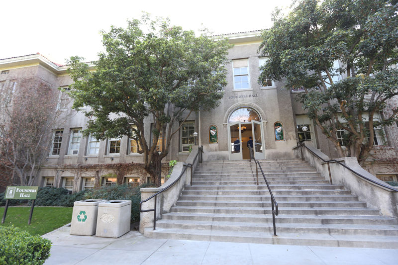 The main administrative building at the University of La Verne. The university is among several in California that have reached an agreement with Gov. Jerry Brown to take more transfer students.