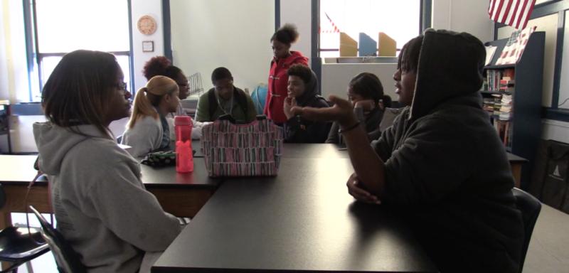 Students at Goldsboro High School in Wayne County