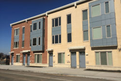 New housing is popping up near Vaux high school, one piece of a $500 million redevelopment project in blighted North Philadelphia.