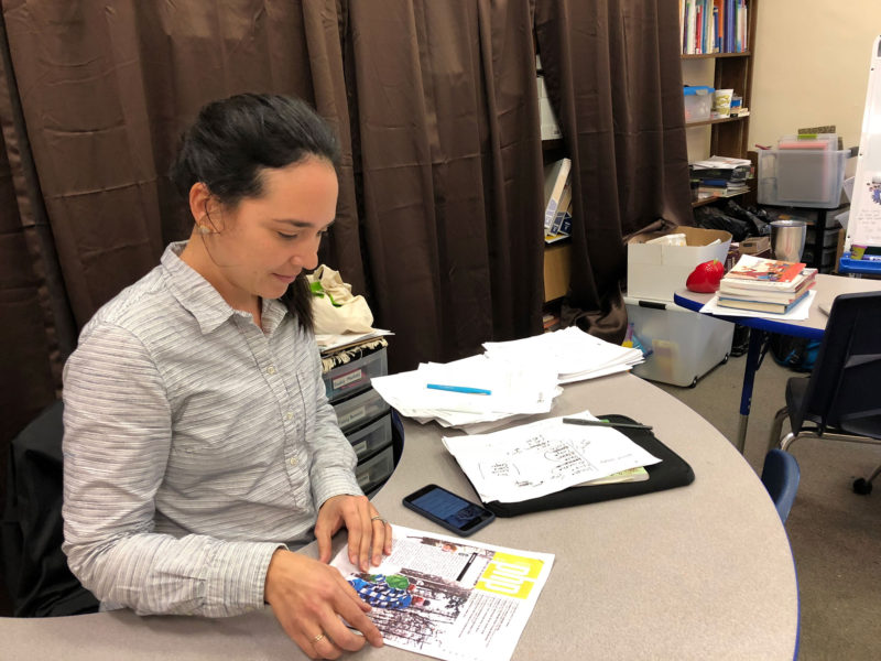 Sari Levy, an elementary school teacher at Bricolage Academy, is one of 22 teachers from 18 New Orleans schools who are taking part in the Personalized Learning Fellowship.
